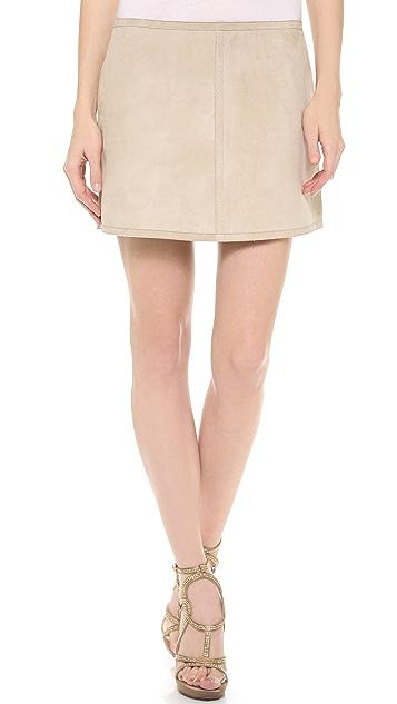 KAUFMANFRANCO Reversible A Line Skirt