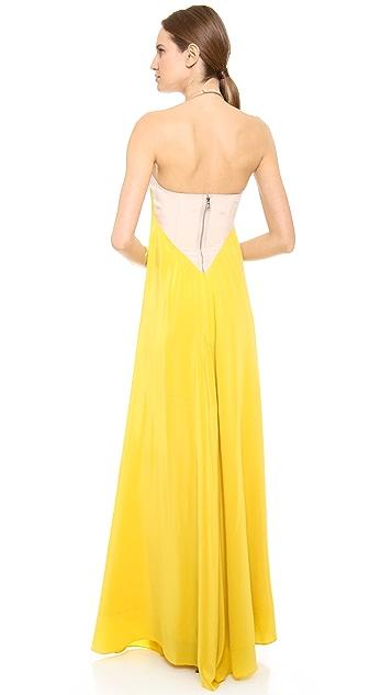 KAUFMANFRANCO Sleeveless Gown