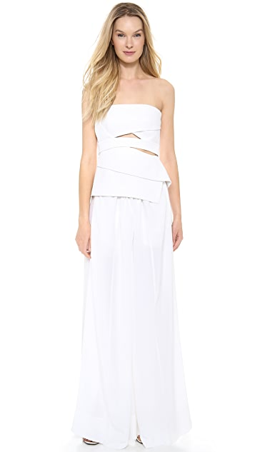 KAUFMANFRANCO Strapless Top