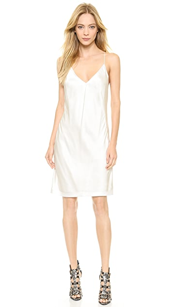 KAUFMANFRANCO Silk Slip Dress