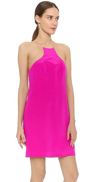 KAUFMANFRANCO Slivered Cocktail Dress