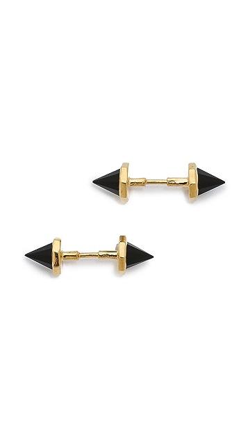 Katie Diamond Mini Monroe Stud Earrings