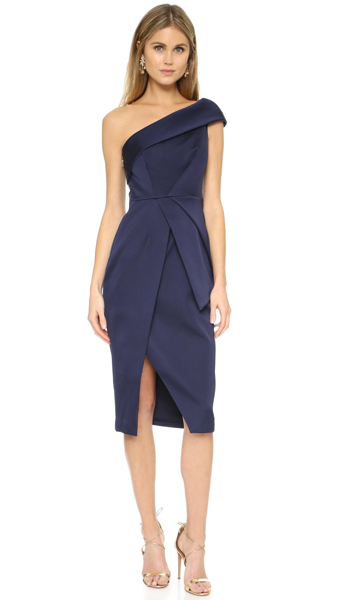 Keepsake Cold Shoulder Dress