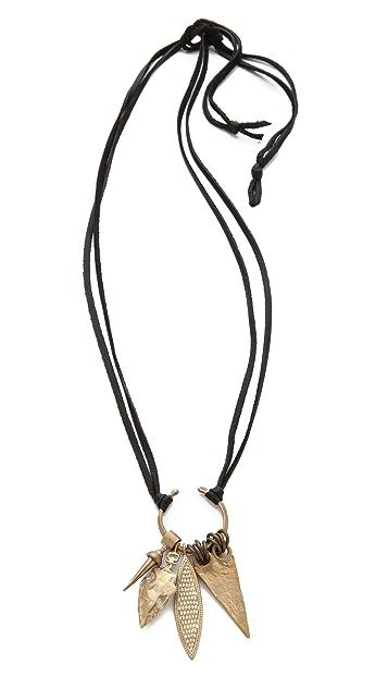 Kelacala Q Quiver Necklace