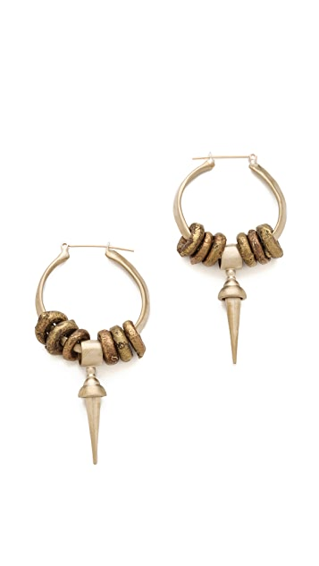 Kelacala Q Bullseye Earrings