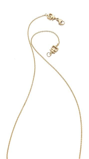 Kelacala Q Goldbrick Necklace