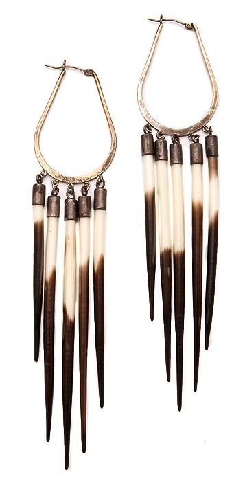 Kristen Elspeth African Sunburst Earrings