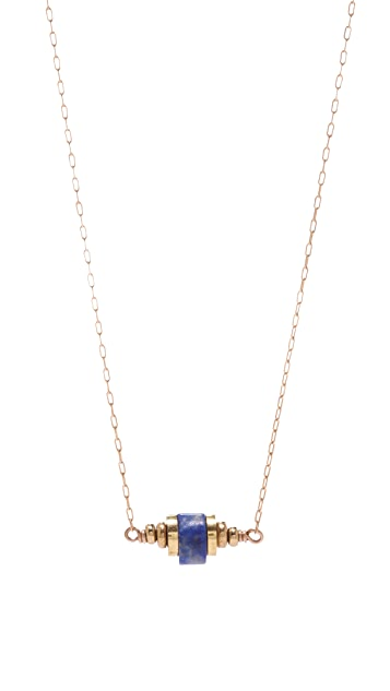 Kristen Elspeth Aztec East West Necklace
