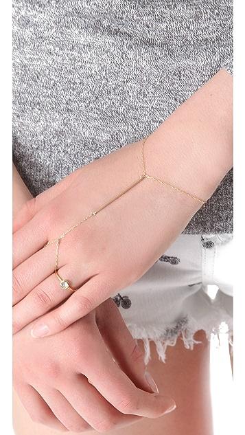 Kristen Elspeth Monolith Finger Chain