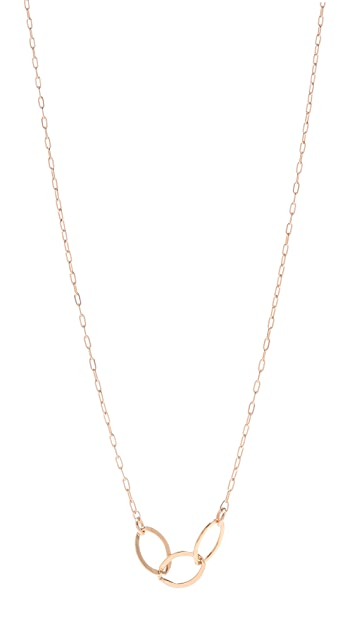 Kristen Elspeth Triple Oval Necklace
