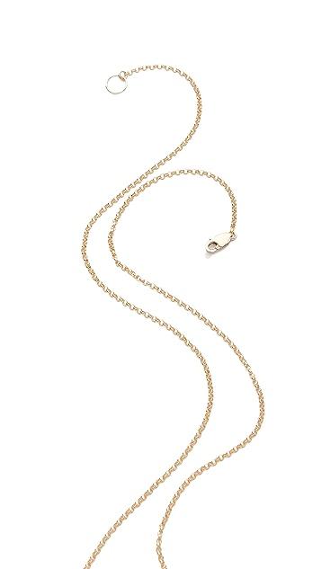 Kristen Elspeth Beaded Quill Necklace