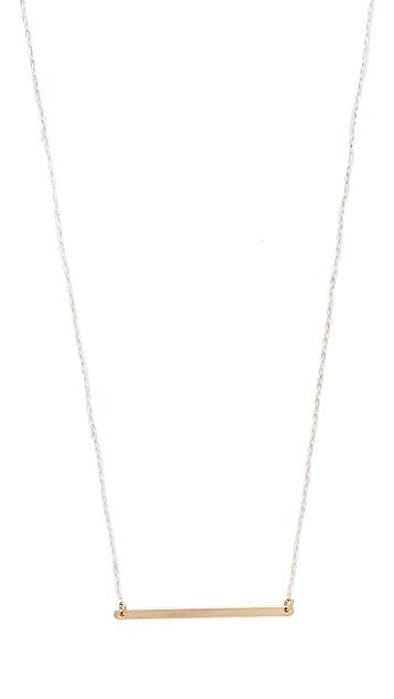 Kristen Elspeth Monolith ID Necklace