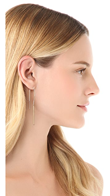 Kristen Elspeth Monolith Pull Through Earrings