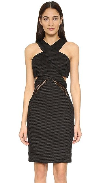 Kendall Kylie Mesh Front Dress Shopbop