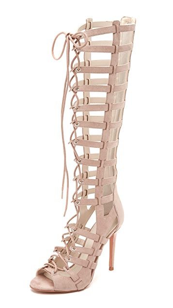 2a1ac95f6b7b KENDALL + KYLIE Emily Lace Up Sandals ...