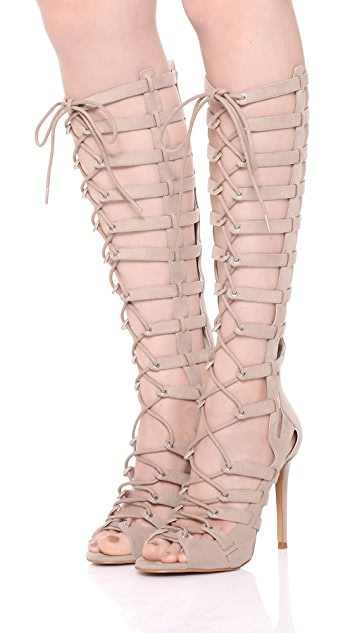 KENDALL + KYLIE Emily Lace Up Sandals