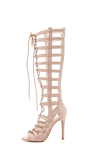 6faf9d4a787f ... KENDALL + KYLIE Emily Lace Up Sandals ...