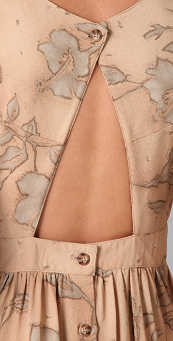 Kenny Penny Pockets Printed Dress