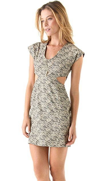 Kenny Cutout Body Con Dress