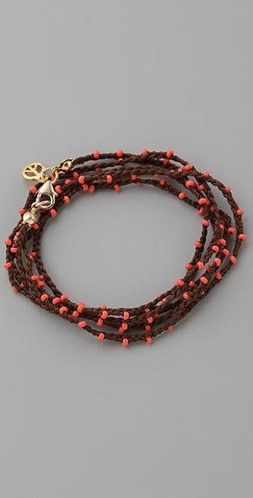 Kerri Wilder Braided Bead Wrap Bracelet