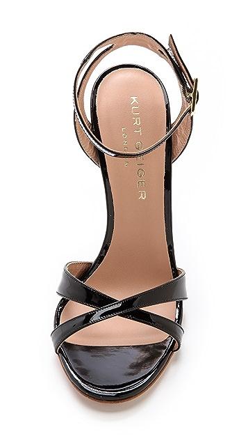Kurt Geiger London Maia Ankle Strap Sandals