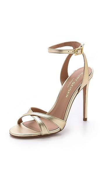 Kurt Geiger London Maia Metallic Sandals