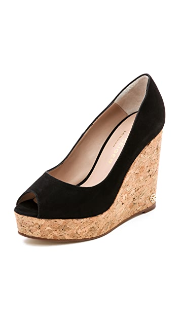Kurt Geiger London Capella Suede Wedges