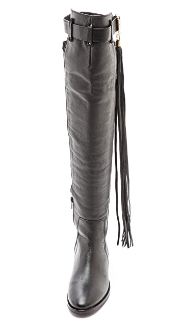 KG Kurt Geiger Vixen Tall Tassle Boots