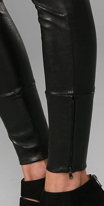 Kiki De Montparnasse Nuit Leather Leggings