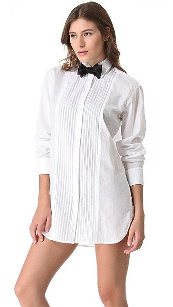 Kiki De Montparnasse Black Tie Shirt