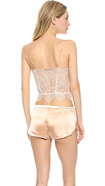 Kiki De Montparnasse Nudite Cropped Cami