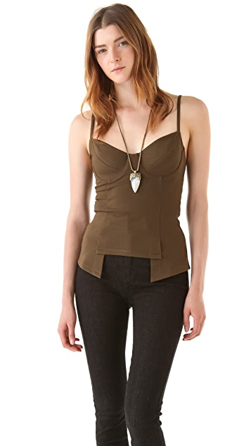 Kimberly Ovitz Corset Top