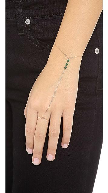 Kismet by Milka Jade Hand Chain