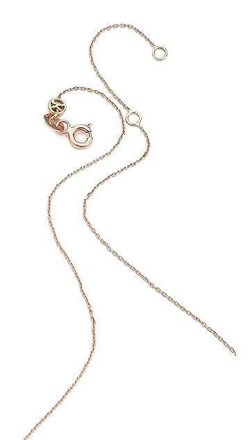 Kismet by Milka Pave Round Necklace