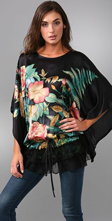 Kite and Butterfly Ruffle Caftan