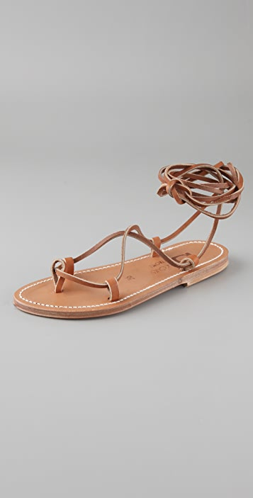 K. Jacques Bikini Roman Thong Sandals