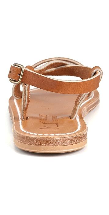 K. Jacques Flavia Flat Sandals