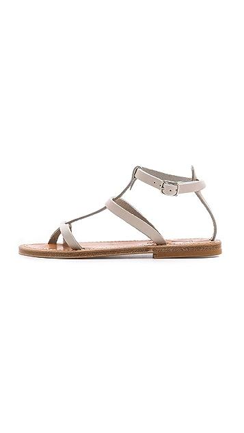 K. Jacques Gina Flat Sandals