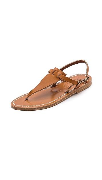 K. Jacques Cyrus Flat Sandals