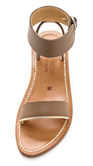K. Jacques Saratoga Ankle Sandals