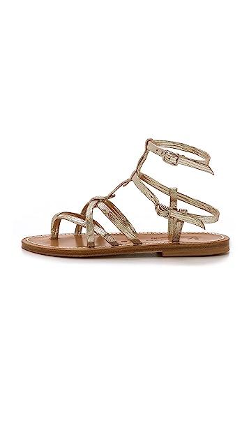 K. Jacques Larissa Gladiator Sandals