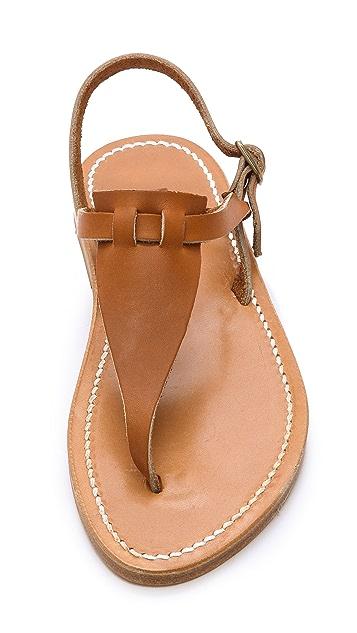 K. Jacques Cyrus Thong Sandals