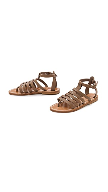K. Jacques Agopos Gladiator Sandals