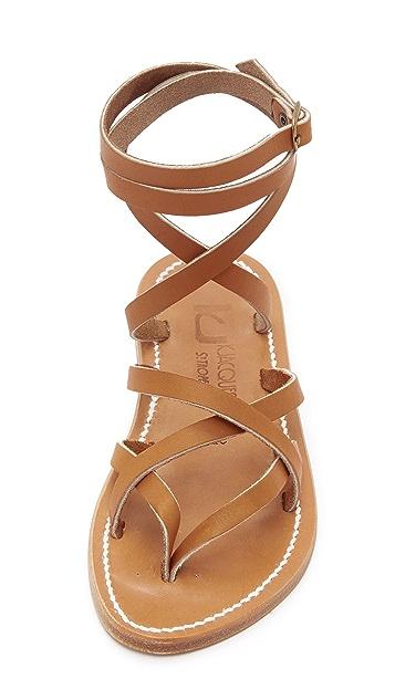 K Jacques Zenobie Wrap Sandals Shopbop