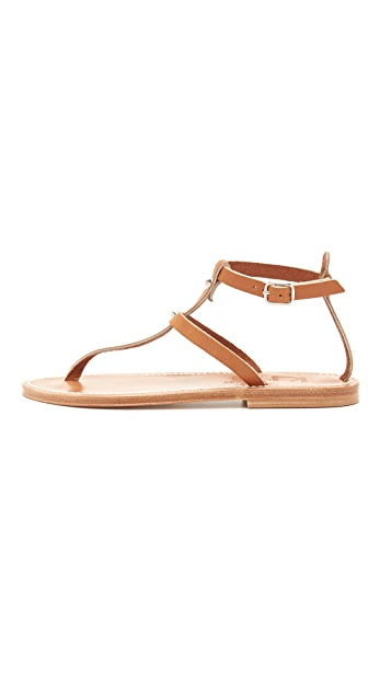 K. Jacques Swan Thong Sandals