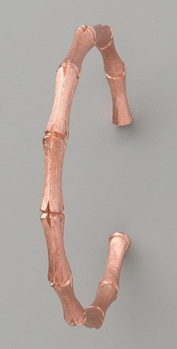 Kenneth Jay Lane Bamboo Hoops