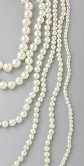 Kenneth Jay Lane Nestled Pearl Necklace