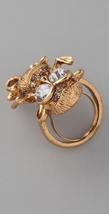 Kenneth Jay Lane Monkey Ring