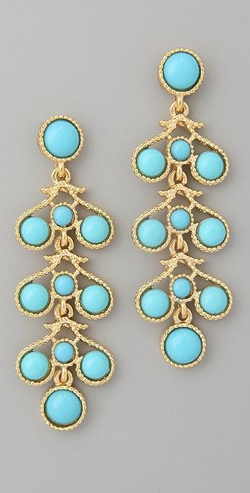 Kenneth Jay Lane Three Drop Earrings