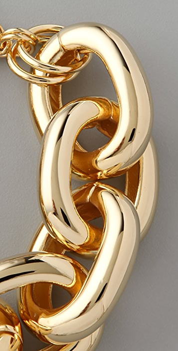 Kenneth Jay Lane Large Link Bracelet